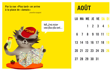 olga-olga illustrations calendrier courrier aout